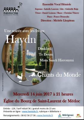 Concert 14 Juin - St Laurent du Médoc
