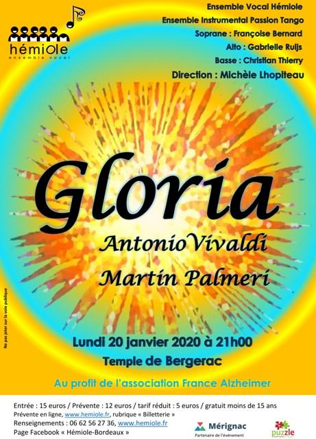 Affiche gloria bergerac 2020 01 20 temple reduit